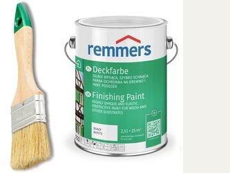 Remmers Deckfarbe do drewna metalu BIAŁY 5 L