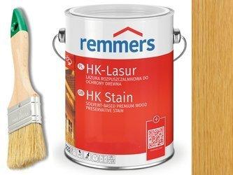 Remmers HK-Lasur impregnat do drewna 2,5L SŁOMKOWY