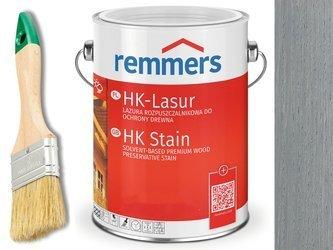 Remmers HK-Lasur impregnat do drewna 2,5L SREBRNY