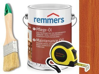 Remmers Pflege-Ol olej do drewna tarasu MAHOŃ 5L