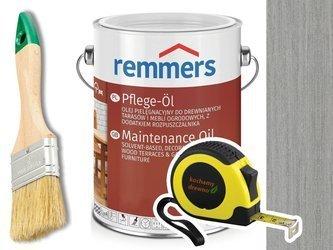 Remmers Pflege-Ol olej do tarasu PLATYNOWY 2,5L