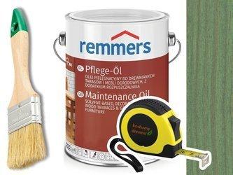 Remmers Pflege-Ol olej do tarasu ZIELONY 2,5L