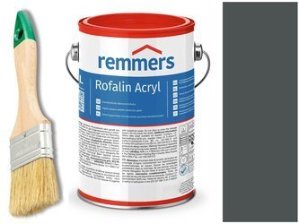 Remmers Rofalin Acryl farba do drewna ANTRACYT 10L