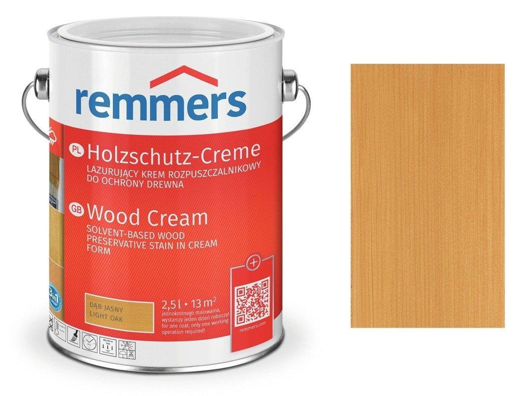 Krem Holzschutz-Creme Remmers dąb jasny 2715 2,5 L