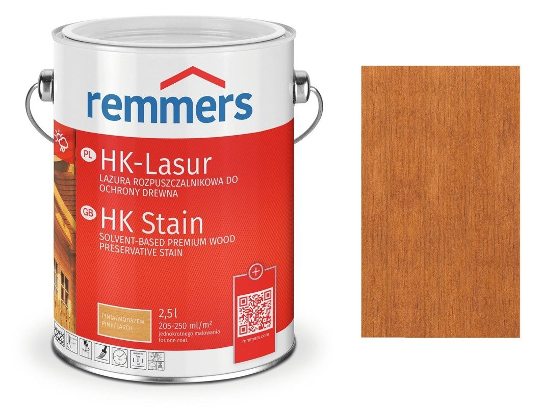 Remmers HK-Lasur impregnat do drewna 0,75 L TEAK