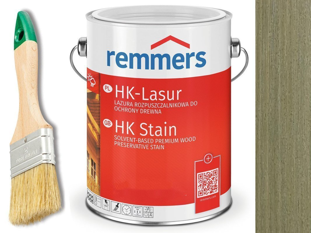 Remmers HK-Lasur impregnat do drewna 10L AGREST