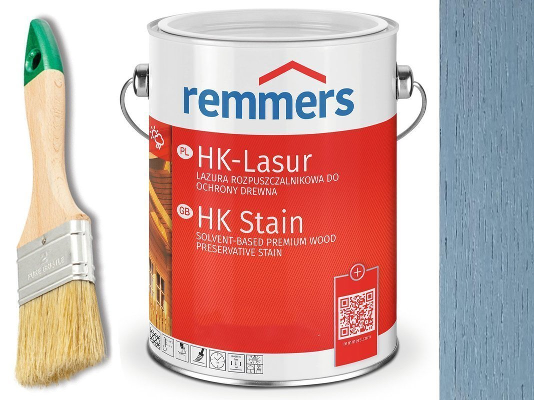 Remmers HK-Lasur impregnat do drewna 10L BŁĘKITNY