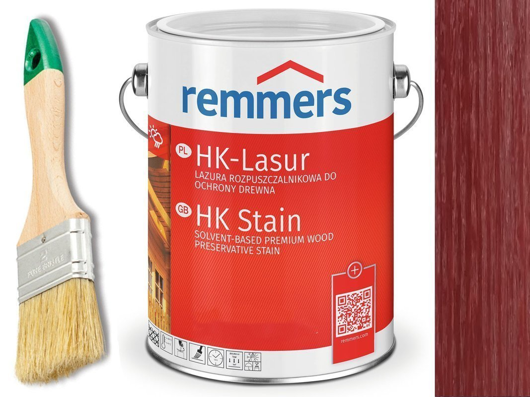 Remmers HK-Lasur impregnat do drewna 10L WIŚNIOWY