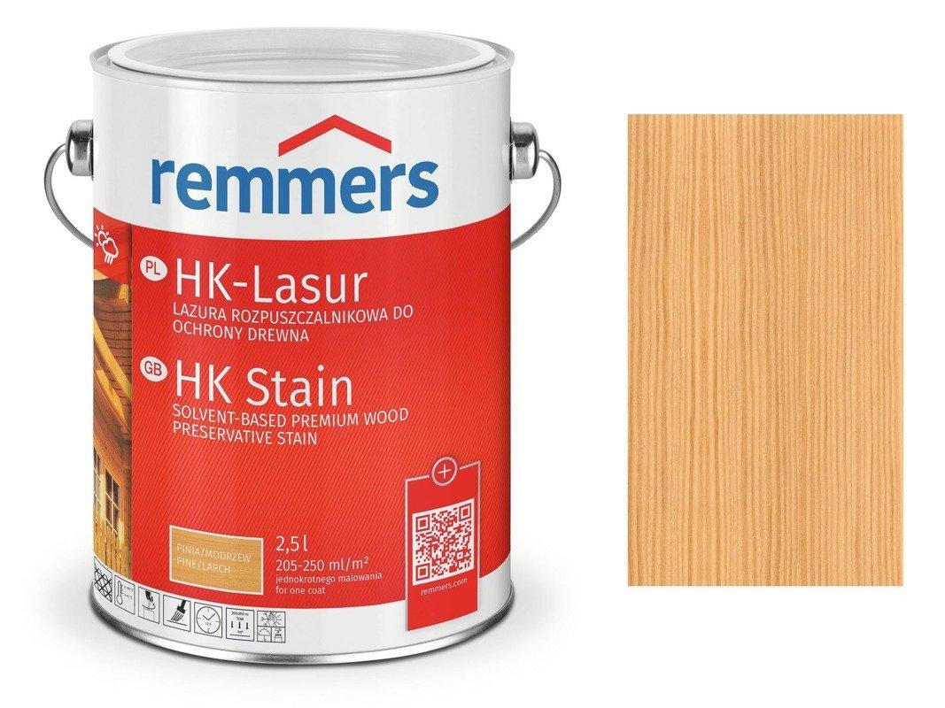 Remmers HK-Lasur impregnat do drewna 2,5 L HEMLOK