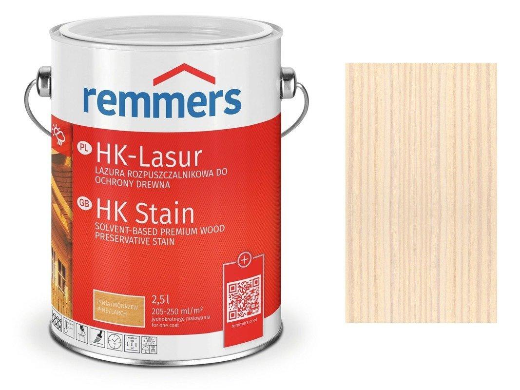 Remmers HK-Lasur impregnat do drewna 5 L BIAŁY
