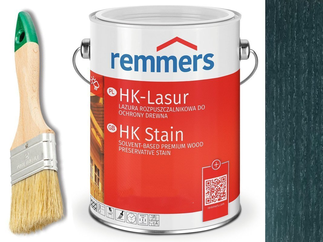 Remmers HK-Lasur impregnat do drewna 5L PAPROĆ