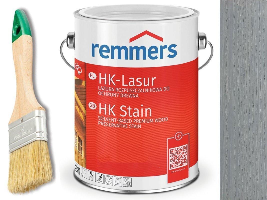 Remmers HK-Lasur impregnat do drewna 5L SREBRNY