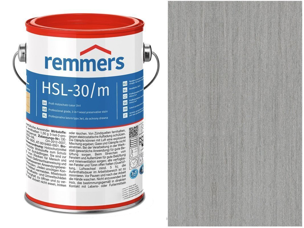 Remmers HSL-30 Profi HK-Lasur Platynowy 5L
