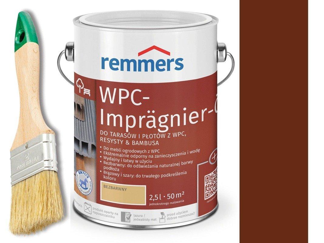 Remmers Olej do tarasów płotów Brązowy 2,5 L